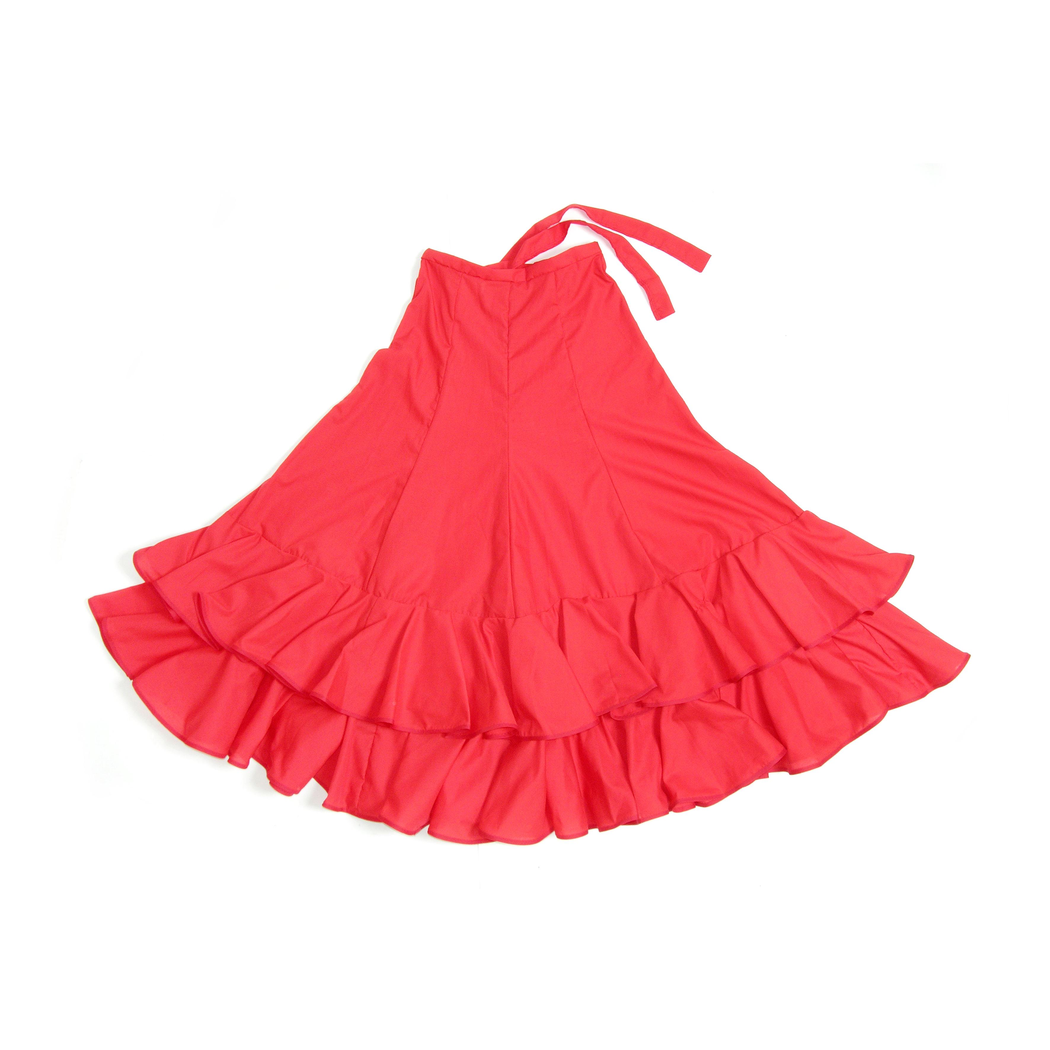 f7242d85ec Falda flamenco jersey dama cadera